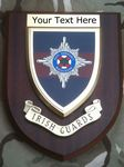 Irish Guards Personalised Military Wall Plaque